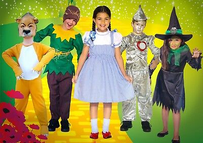 Kids Scarecrow Costumes (Scarecrow Kids Costumes The Wizard of Oz Childrens GREAT)
