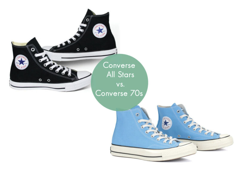 d91dda32dca0 What s the Difference between Classic Converse   70s Converse