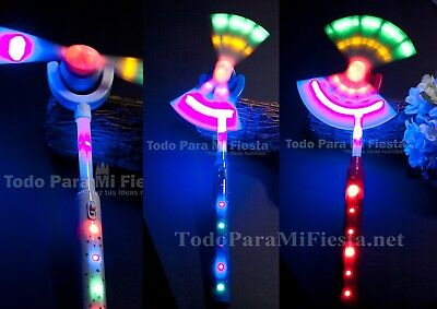 Lightup Toy Wand Prince Princess Novelty Toy Spinning Wand  Boy Girl Juguete