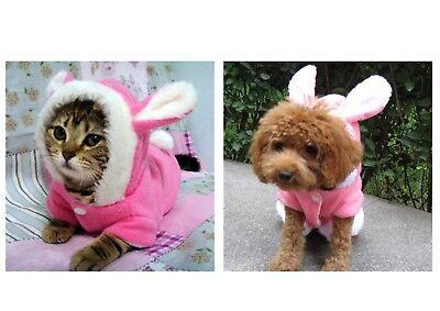 Niedliches Katzen- Hundekostüm HASE Bunny  Pullover Hund Weihnachten