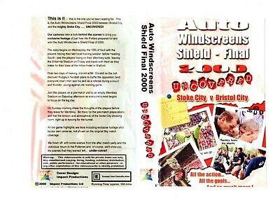 STOKE CITY AUTO WINDSCREEENS SHIELD -FINAL 2000 DVD
