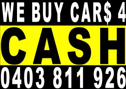 Wanted: MORE CASH 4 DAMAGED/UNWANTED CARS,UTES,VANS,JETSKIES,4WDS