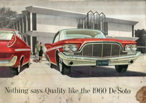 "1960 DeSoto Prestige Sales Catalog 12X18"""