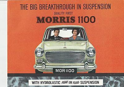 Morris 1100 Brochure  - 1964