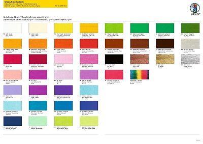p Bastelkrepp 250 x 50 cm 10,5,2 oder 1 Rolle pro Farbe (Krepp-papier Rollen)