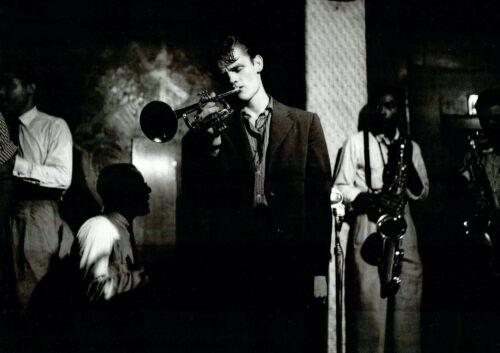"Reproduction ""Chet Baker - New York 1955"" Poster, Jazz, Wall Art, Vintage Print"
