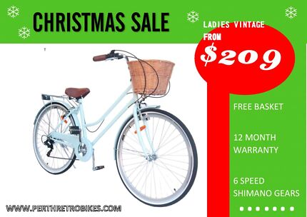 CHRISTMAS SALE!!! Ladies Vintage!!! From $209!!!  Leederville Vincent Area Preview