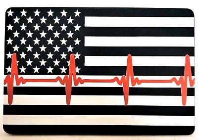 American Flag, First Responders Aluminum Hitch Cover, 3x5, U