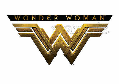 IRON ON TRANSFER / STICKER - WONDER WOMAN VECTOR T-SHIRT TRANSFER COSTUME  - Vector Costume