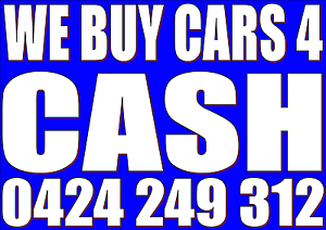 INSTANT $$$ FOR YOUR OLD DAMAGED/UNWANTED CAR,UTE,4WD,JETSKI North Sydney North Sydney Area Preview