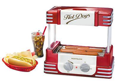 Hot Dog Roller Bun Warmer Adjustable Heat Setting Cooking Machine Countertop
