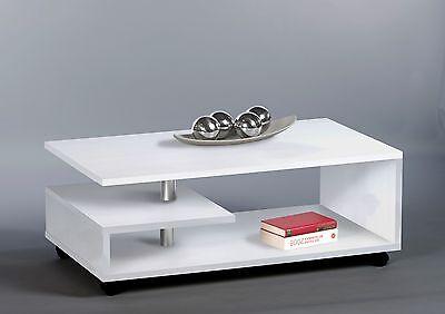 couchtisch mika, weiß, wohnzimmertisch, stubentisch, tisch, modern ... - Wohnzimmertisch Modern