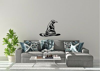 Sorting Hat Harry Potter Inspired Pick House Design Wall Art Decal Vinyl Sticker