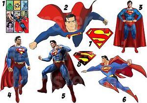 superman sticker autocollant ou transfert textile vetement t shirt ebay. Black Bedroom Furniture Sets. Home Design Ideas