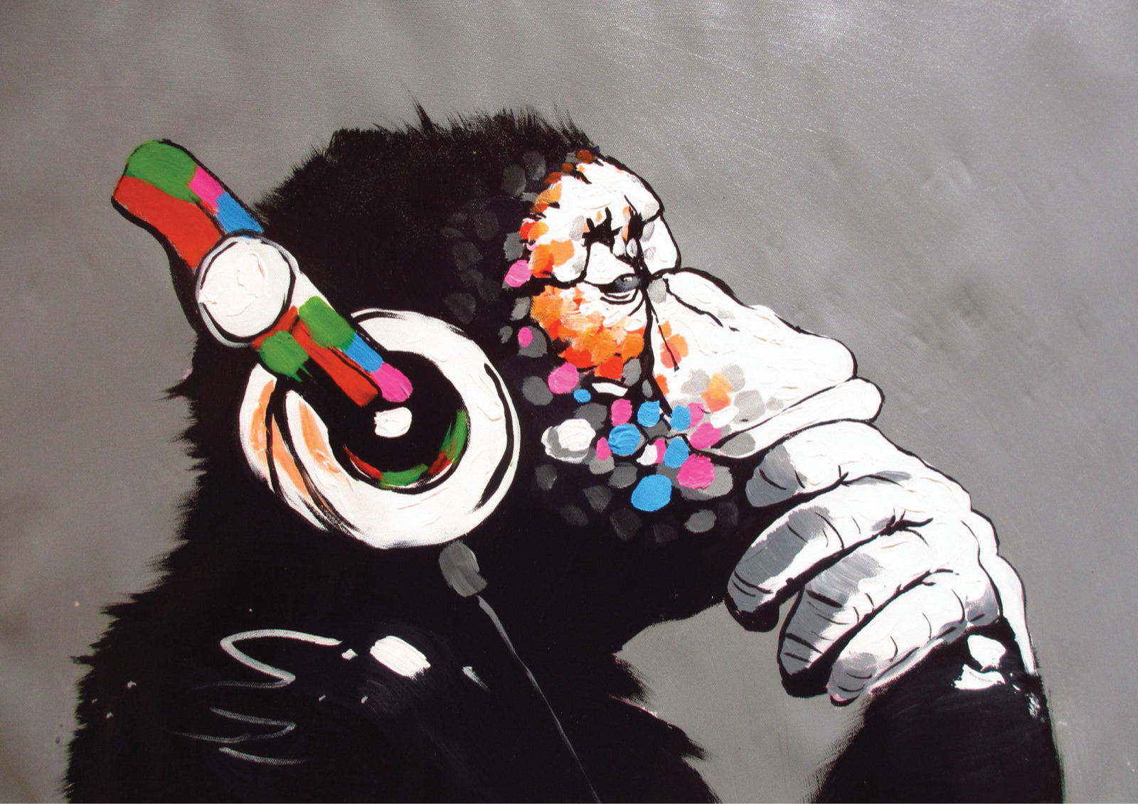 OUT OF BED BANKSY ART POSTER PRINT A3 SIZE