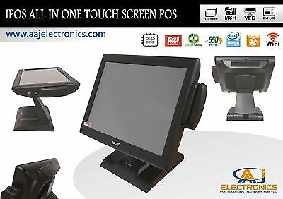 Ipos All In One Touch Screen System 4gb Ram128gb Ssdwifi Restaurantretail Pos