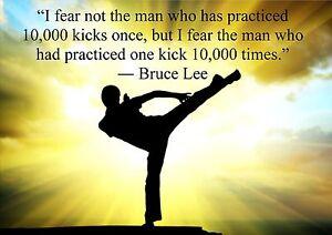 Bruce Lee Poster | eBay