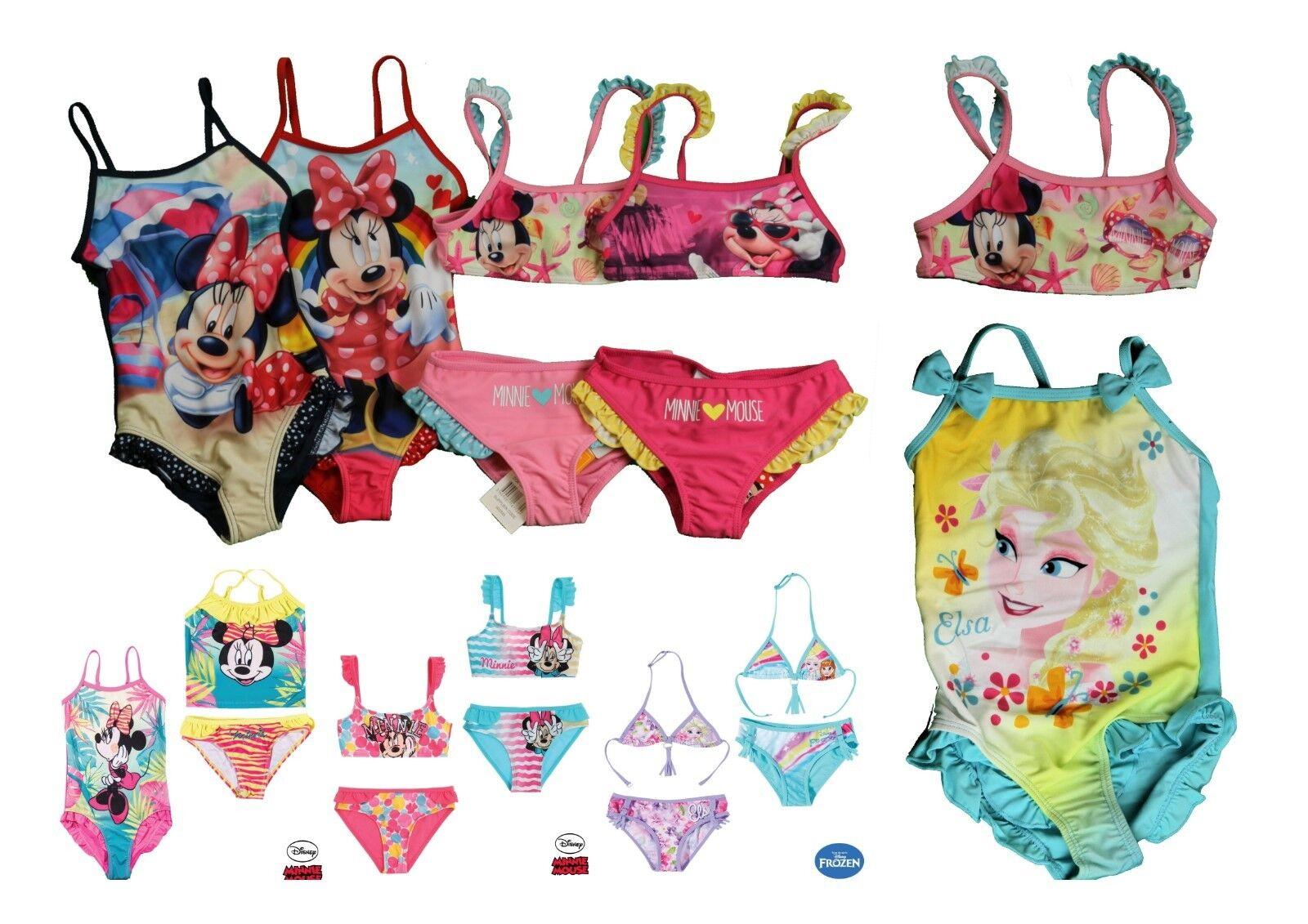 Frozen Minnie Badeanzug Bikini 98 104 110 116 122 128 134 140  Disney Elsa