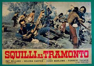 T85-FOTOBUSTA-SQUILLI-AL-TRAMONTO-RAY-MILLAND-CARTER-HUGH-MARLOWE-TUCKER-7