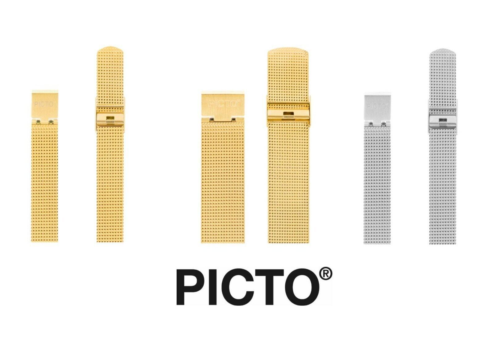 Picto Mesh Uhrenarmband