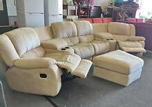 DELIVERY TODAY LUXURY THEATRE RECLINER Sofas & OTTOMAN Belmont Belmont Area Preview