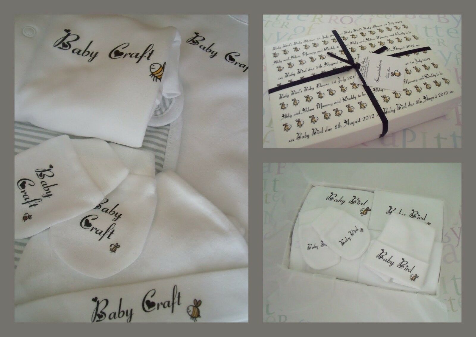 Neutral Baby Gifts Ireland : Great personalised baby gift unisex newborn