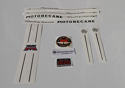 Motobecane Nomade Bicycle Decal Set référence SKU moto-S111