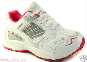 LADIES TRAINERS WOMENS SPORTS RUNNING JOGGING GYM WALKING SHOES SIZES 3 - 9 UK