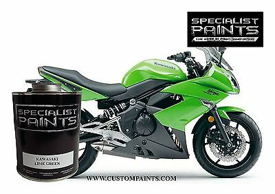 Pint Of Kawasaki   Lime Green  Motorcycle  Automotive  Hotrod  Guitar  Hok  Ppg