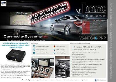 Rückfahrkamera Interface Mercedes Comand Online Audio20 NTG4.5 GLK-Klasse X204