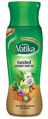 Dabur Vatika Enriched Coconut Hair Oil (Haaröl mit Henna, Amla & Lemon)