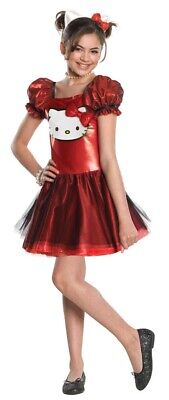 Red Sequin Hello Kitty CHILD Costume Size S Small 4-6 NEW](Rubies Hello Kitty Child Halloween Costume)