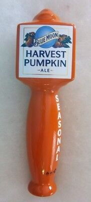 Blue Moon Harvest Pumpkin Ale Beer Tap Handle