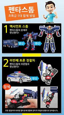Hello Carbot Penta Storm Pentastorm Transformer Transforming Figure Robot 5-Cars