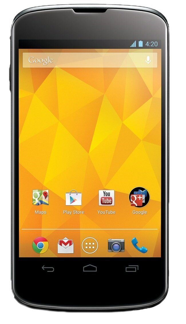 USED NEXUS 4 E960 - 16GB - BLACK (TMOBILE) SMARTPHONE