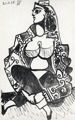 Pablo Picasso lithograph, printed by Mourlot RARE