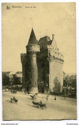 CPA - Carte postale -Belgique -Bruxelles - Porte de Hal (CP2555)