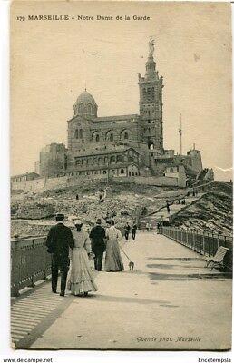CPA -Carte postale -France -Marseille - Notre Dame de la Garde - 1906 (CP789)