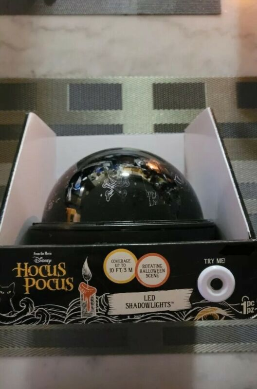 Hocus Pocus LED Shadowlight Projector Brand New. Ships from USA.