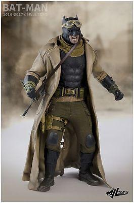 1/6 WJL toys Knightmare Batman Desert Suit Accessories  For 12''Action - Superman Suit For Kids