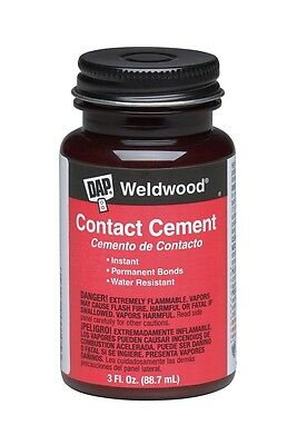 Contact Cement - Dap 00107 3 oz. Weldwood Contact Cement