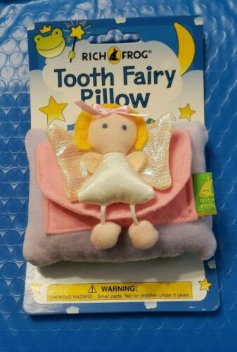 One New Old Stock~ Rich Frog~ Tooth Fairy Pillow~