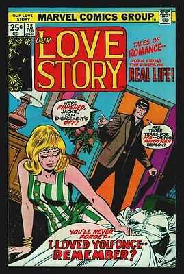 Marvel Comics Our LOVE STORY #38 Last Issue VG/FN 5.0