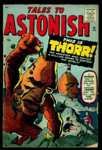 Marvel Comics TALES To ASTONISH #16 This Is Thorr G/VG 3.0