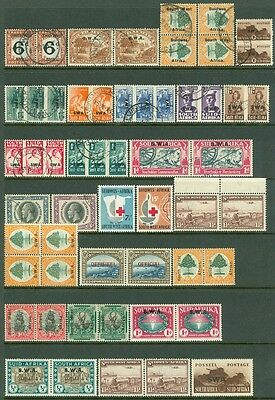 South West Africa   All Vf  Mint   Used Group Of Better Singles   Sets  Cat  764