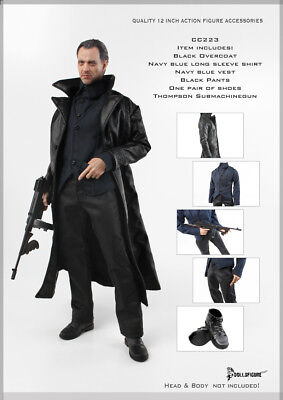 CC-223 Doll Figure - 1/6 Gangster Outfit Set - Gangster Outfits