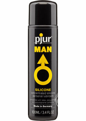 Pjur Man Basic Personal Guide Silicone Lubricant 3.4 Ounce ](Personalized Mens Pajamas)