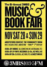 3MBS Book & Music Fair ABBOTSFORD CONVENT 1000s Books/Records/CDs Abbotsford Yarra Area Preview