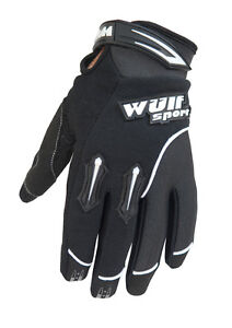 MOTOCROSS GLOVES by Wulfsport STRATOS for Trials Enduro BMX Off Road BIKE