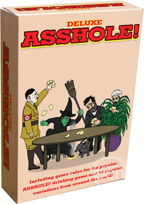 Deluxe A  Hole Drinking Card Game
